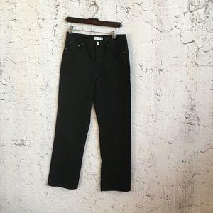 COLDWATER CREEK BLACK PANTS 6